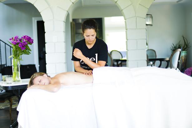 massages workout