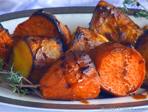 Featured molasses yams