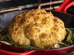 Featured roasted cauliflower delish